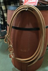 """Circle L Circle L Leather Weighted Split, Double Thick Stitched Reins - 8' x 5/8"""""""