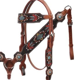Showman Showman Navajo Embroidered Tack Set