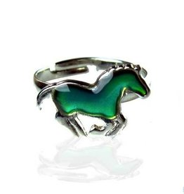 AWST Ring - Galloping Pony Mood Ring single