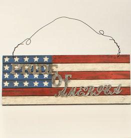 Wood Sign - Pride of America