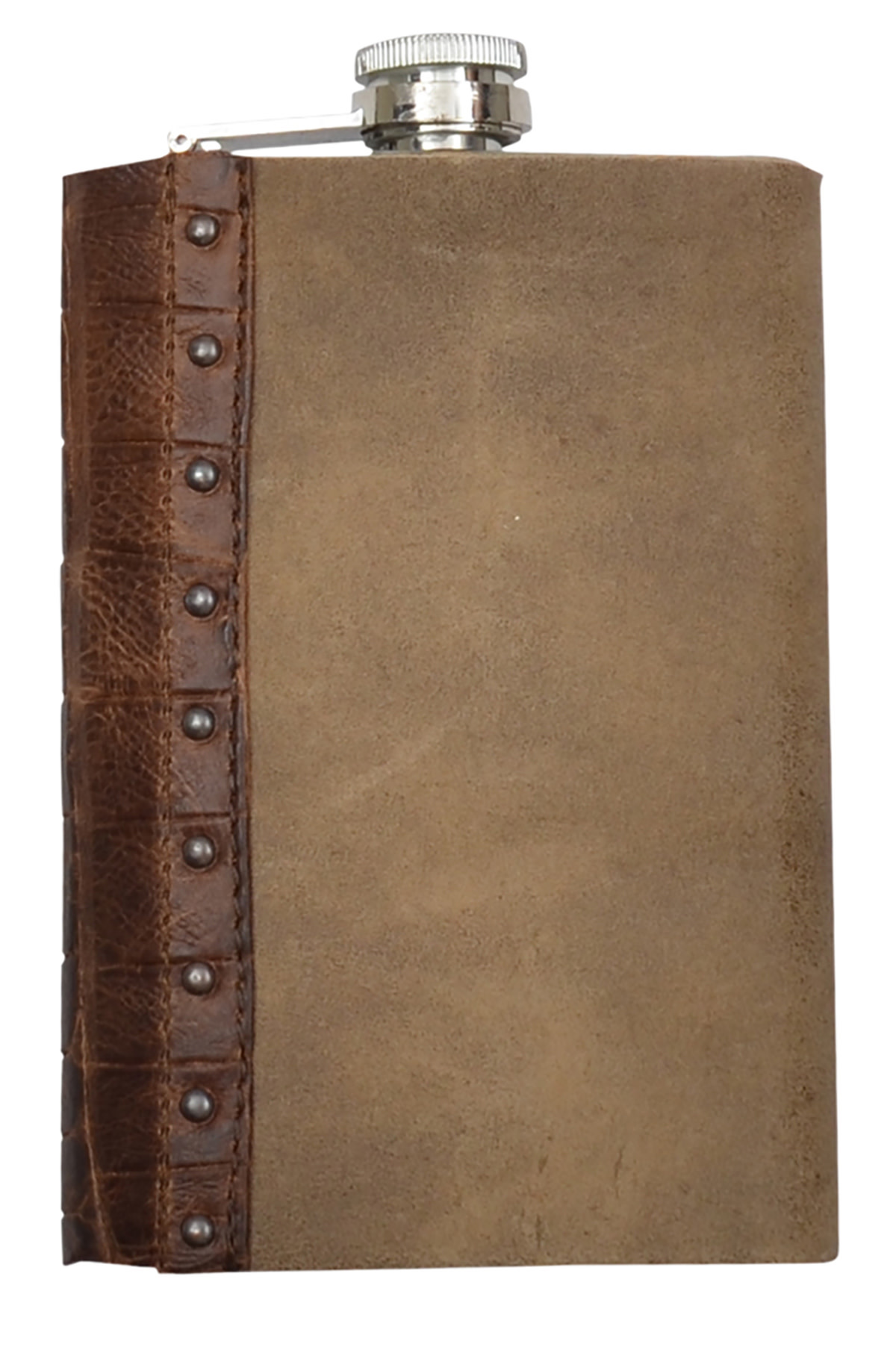 Flask - Distressed Leather Jacket