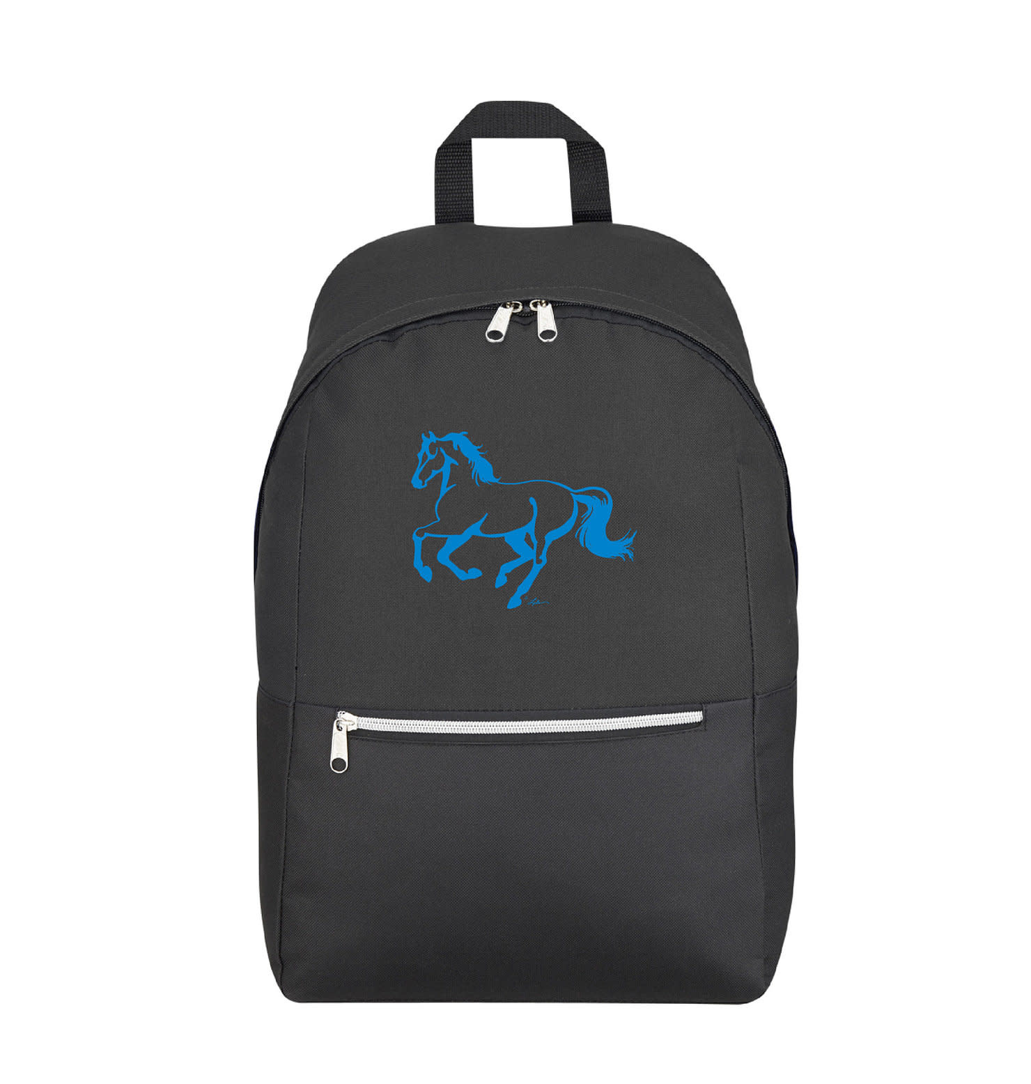 """AWST Backpack - """"Lila"""" Galloping Horse"""