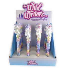 AWST Wild Writers Pastel Unicorn Pen single