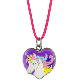 Necklace - Unicorn Head, Color Changing