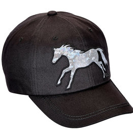 "AWST Ball Cap - ""Lila"" Shiny Galloping Horse"
