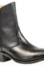 "Boulet Western Men's Boulet Black Deer Tan 7"" Western Boot (Reg $212.95 NOW 30% OFF!!)"
