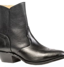 "Boulet Western Men's Boulet Black Deer Tan 7"" Western Boot (Reg $212.95 NOW 30% OFF!!)"