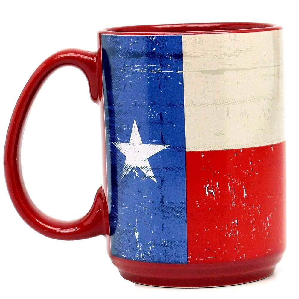 Coffee Mug - Texas Flag - 16oz