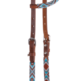 Circle Y Circle Y Infinity Wrap One Ear Headstall - Sky Diamond