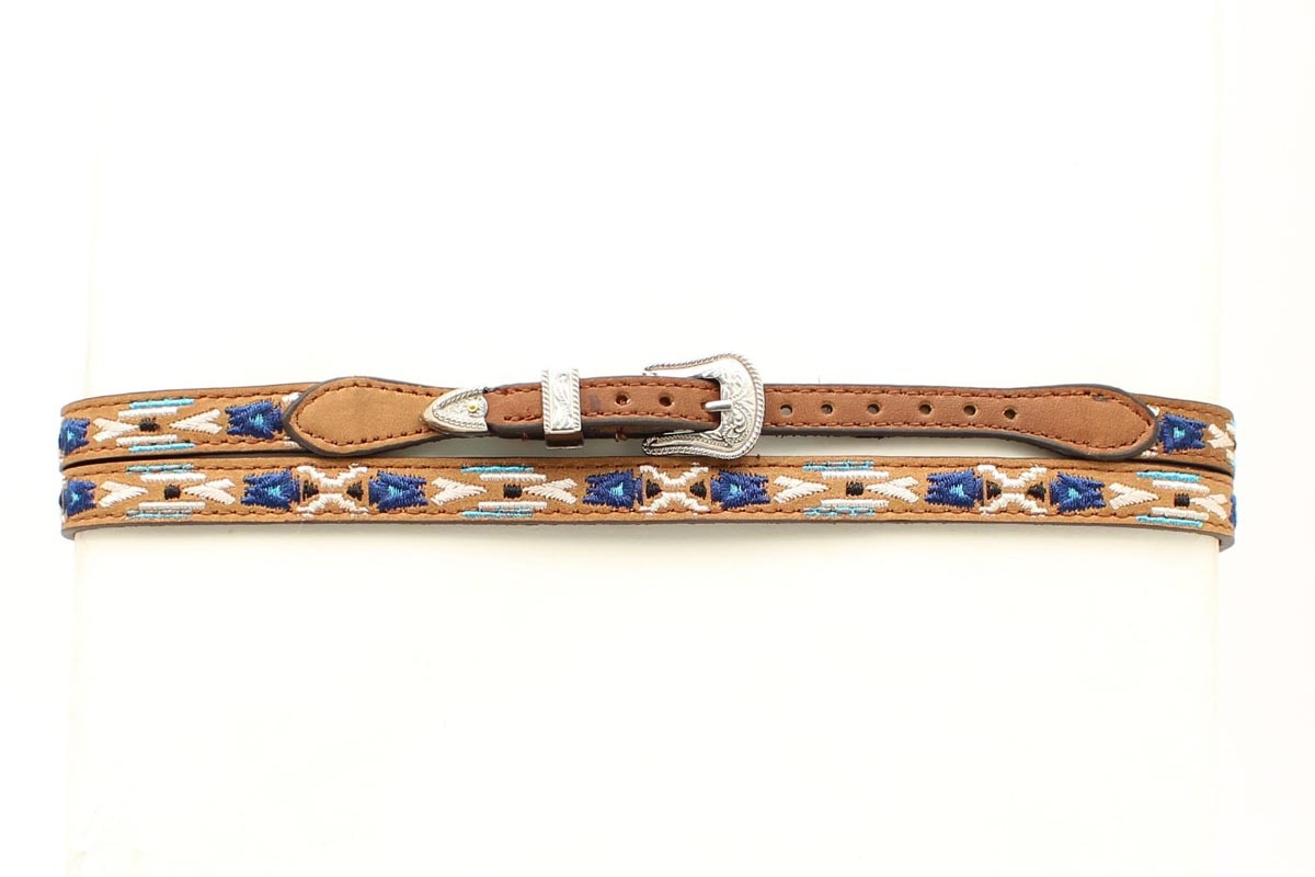 Hat Band - 3/8 Embroidered Hatband