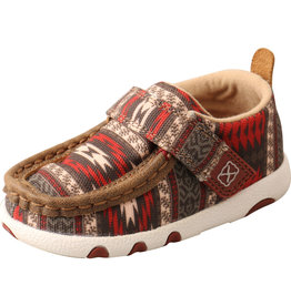 Twisted X Infant's Twisted X Hooey Driving Moc - Aztec