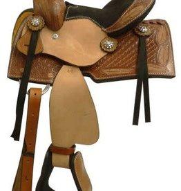 """Showman 8"""" Mini Bar Saddle"""