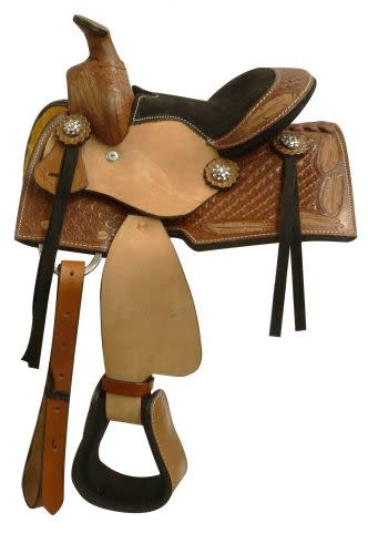 "Showman 8"" Mini Bar Saddle"