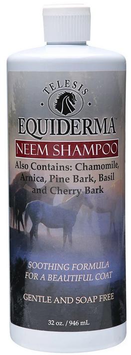Equiderma Neem Shampoo for Horses, 32oz.