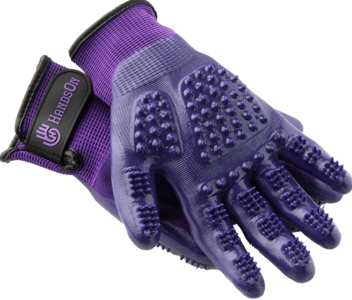 Hands on Grooming & Bathing Glove