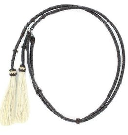 Western Fashion Accessories Stampede Strings, Taupe, Leather, Horse Hair