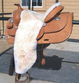 ECP 100% Sheepskin Full Western Seat Cover