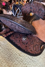 "12"" Wide Wild Star Barrel Saddle"