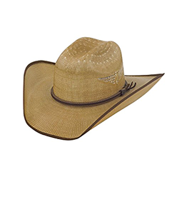Justin Bent Rail Fenix Straw Hat Tan