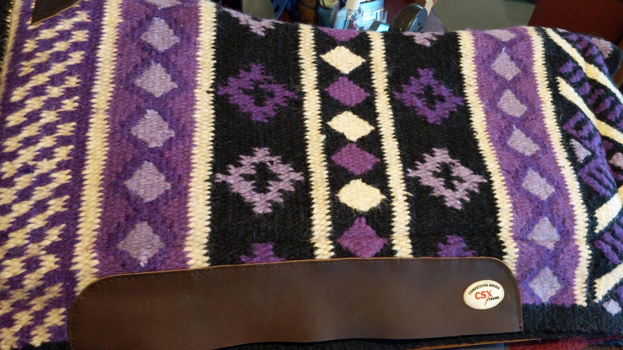CSX Saddle Pad - Wool Top