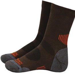 Outback Outback Travel Sock, Brown OS