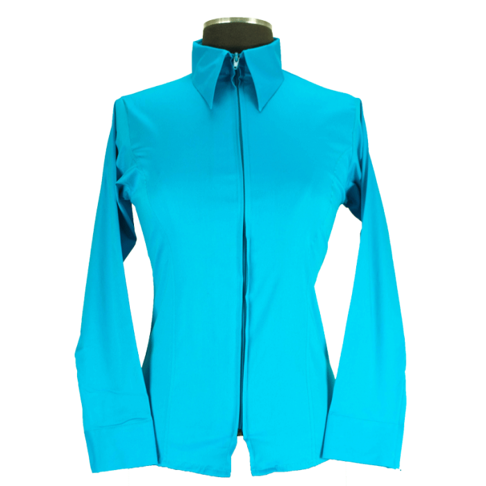 Royal Highness Children's Fitted Show Shirt - Turquoise