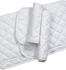 "Lamprey Equine Textiles Quilts White 14"" (4/set)"