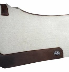 "Professional's Choice Steam Pressed Comfort-Fit Felt Saddle Pad 31""x32""x3/4"""