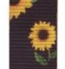 Showman Nylon Tie Strap w/Sunflower