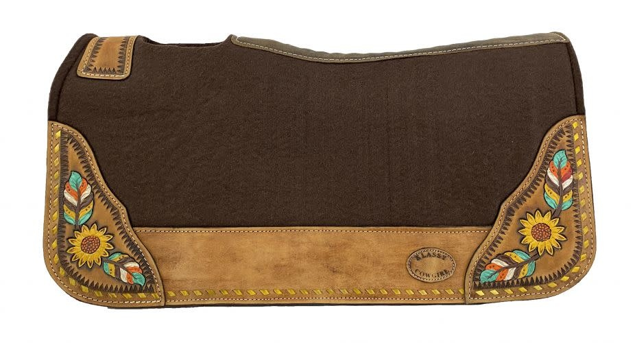 Showman Barrel Pad w/Sunflower - 28X30X1