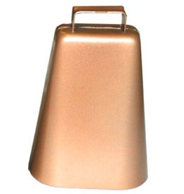 Lamprey Cow Bell Brown Large