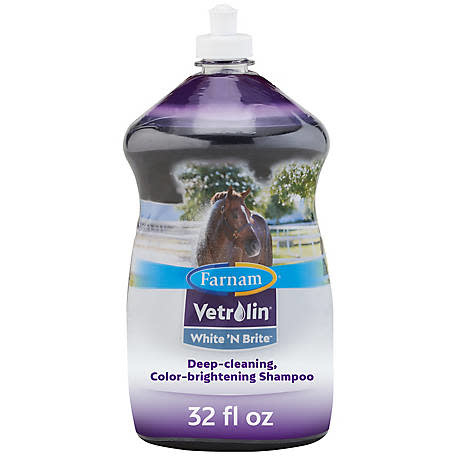 Farnam Vetrolin White'N Brite Body Wash Shampoo - 32 oz