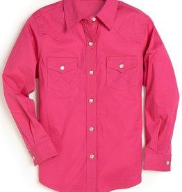 Wrangler Girl's Wrangler Pink Shirt