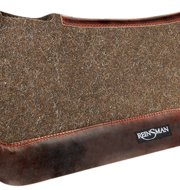 "Reinsman Limited Chocolate Wool Pad - 30""x30""x3/4"""