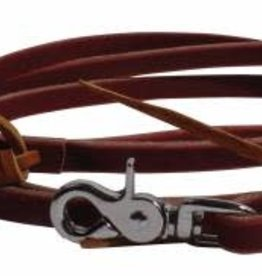 Pro Choice Leather Roping Rein w/ Waterloops