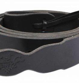 Pro Choice Leather Cinch Tie Strap, Black