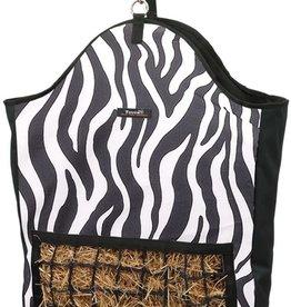 Tough-1 Slow Feed Hay Pouch - Zebra White