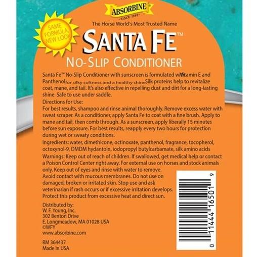 Absorbine Absorbine Santa Fe Conditioner & Sun Screen - 32oz