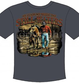 WEX Still Waters T-Shirt Ash X-Large