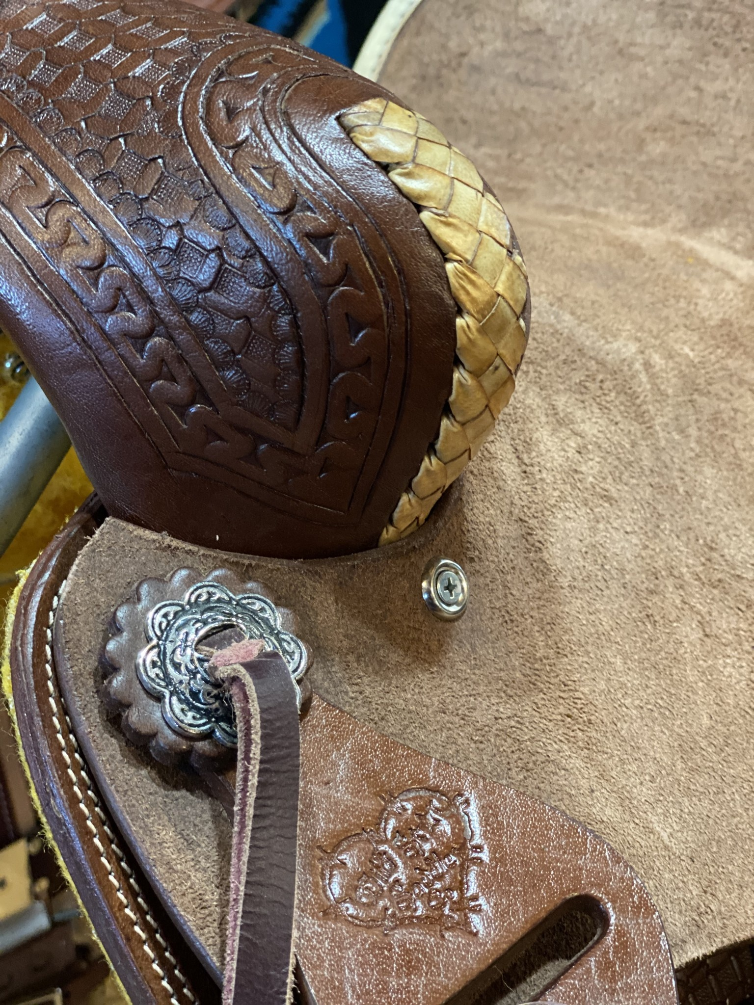 """10"""" Wild Star Youth Ranch Saddle"""