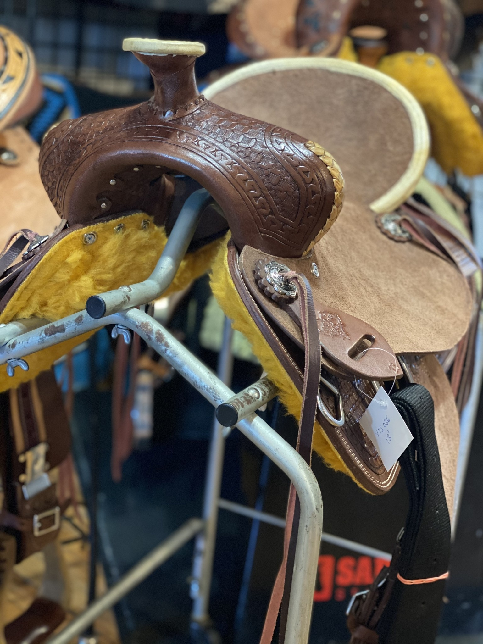 """12"""" Wild Star Youth Ranch Saddle"""