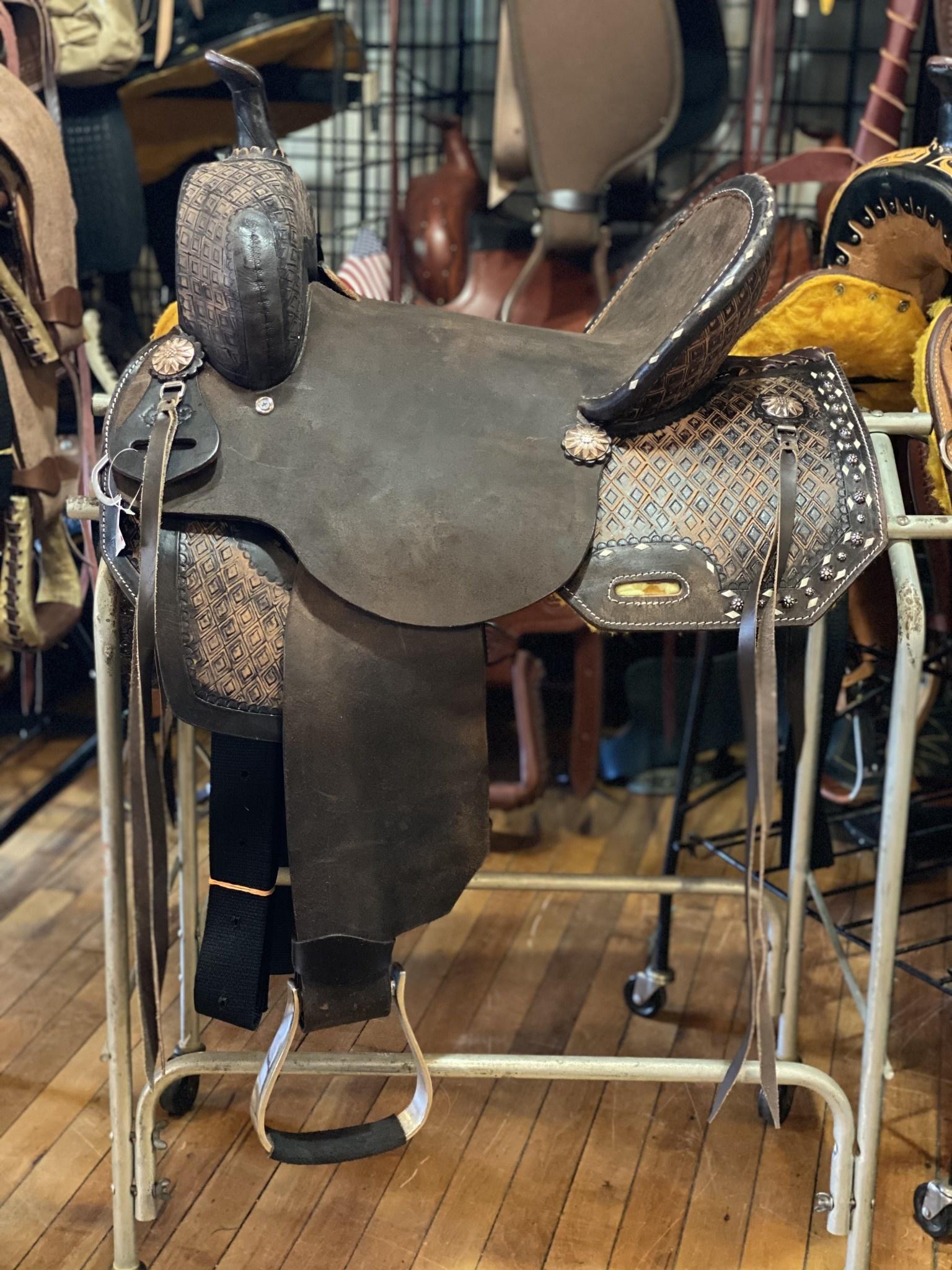 "16"" Wild Star Square Skirt Barrel Saddle"