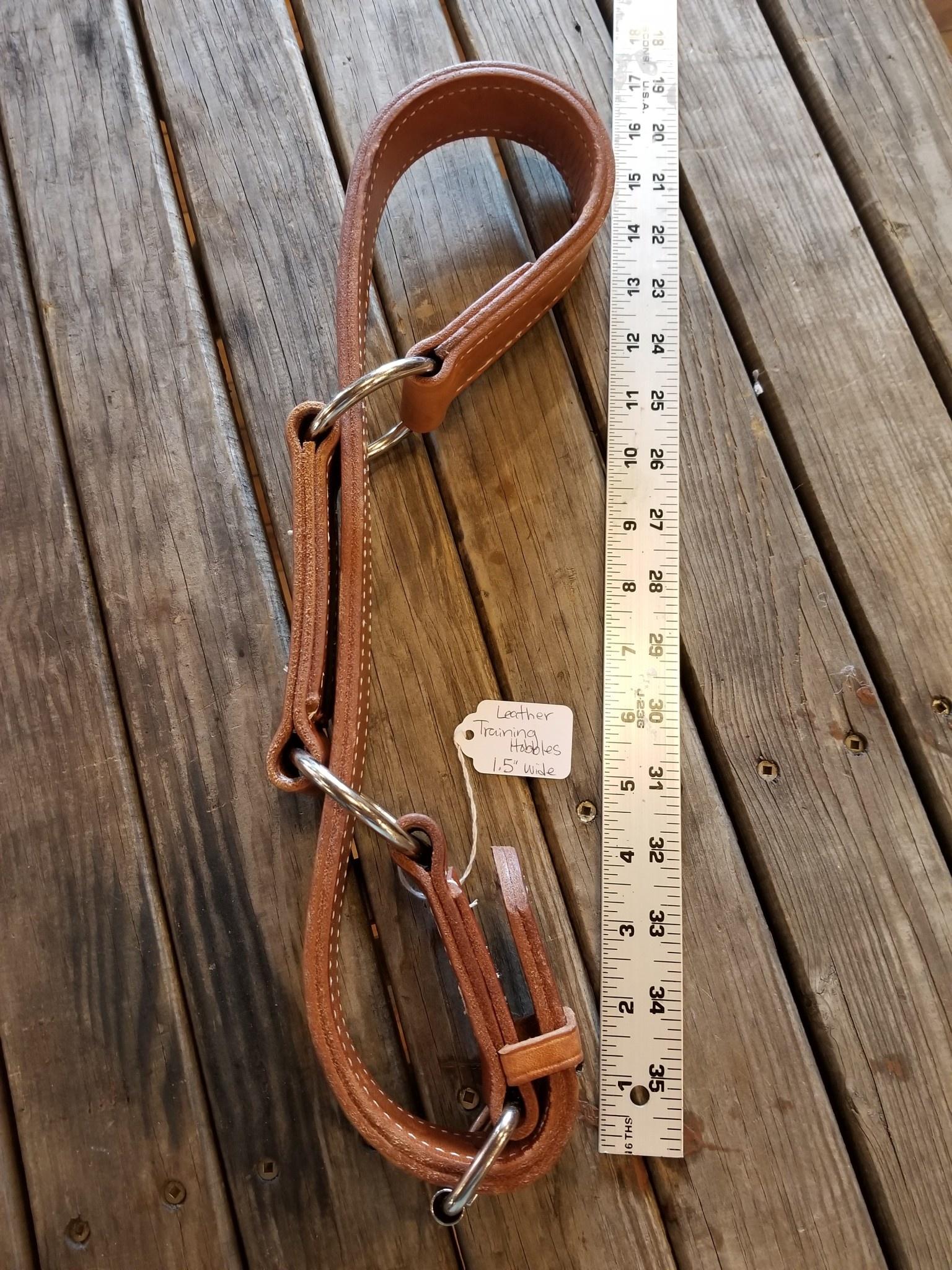 "Circle L Circle L Leather Training Hobbles - 1.5"" Width"