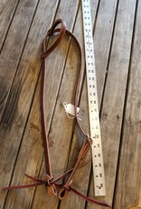 Circle L Circle L Plain One Ear Headstall - Horse Size Med. Oil