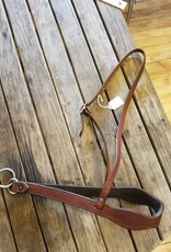 Circle L Circle L Leather Tie Down Noseband - Horse Size