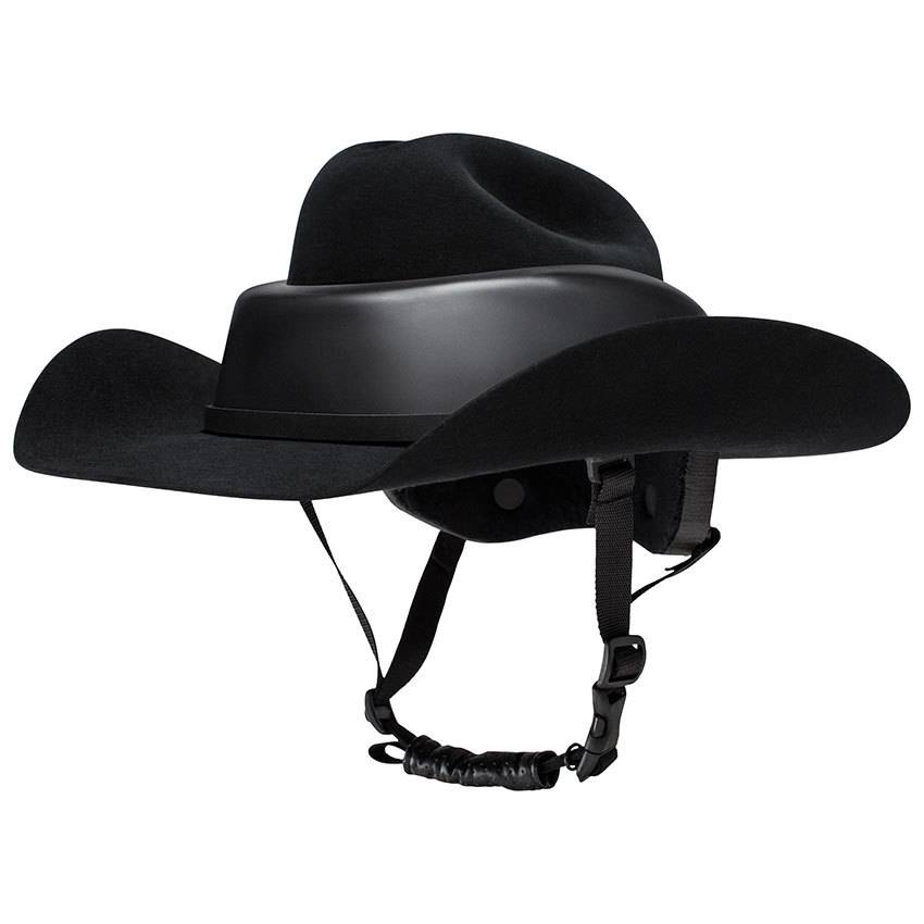 e6446b84bec Resistol Resistol RideSafe 7x Western Hat Helmet - Gass Horse Supply ...