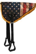 Showman Bareback Pad - American Flag Design