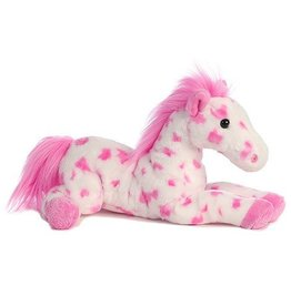 GT Reid Plush Spotted Pony, Pink - 12""