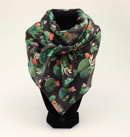 Scarf - Silk Cactus