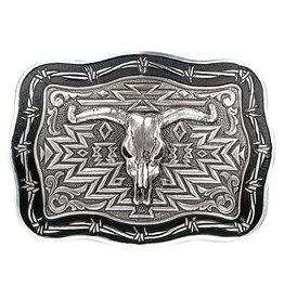 Belt Buckle - Vintage Steer Skull